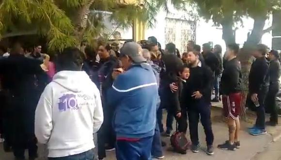 Reportan balacera dentro de colegio, al norte de México. (Foto: captura de video)