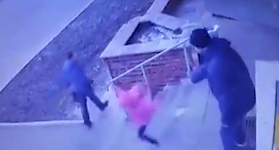 Sujeto empuja a su hija de 6 años por las escaleras y queda detenido
