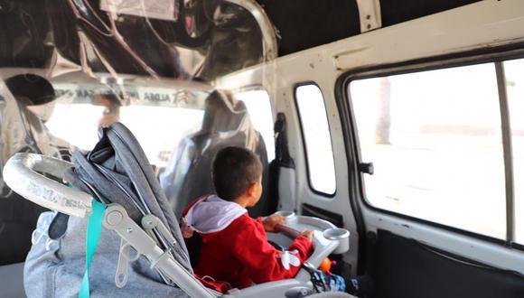 Tacna: trasladan a Lima a niño para atenderlo por malformación en pies y manos (Foto: Gore Tacna).