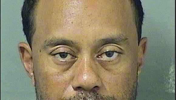 Tiger Woods es detenido por conducir borracho y drogado
