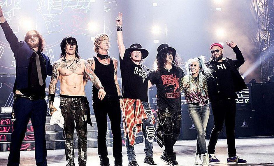 Guns N' Roses, con Axl Rose, llega a Lima para infartante concierto