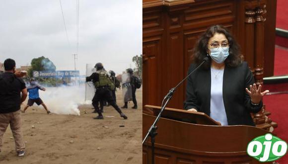 La primera ministra, Violeta Bermúdez, expresó su solidaridad con los familiares de las víctimas mortales en La Libertad. (Foto: PCM | GEC)
