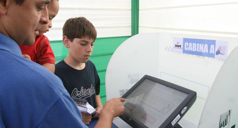 Este 05 de junio se aplicará por primera vez el voto electrónico