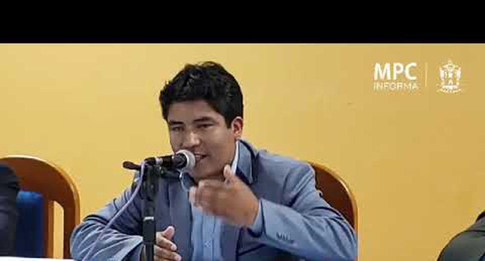 Cusco. El alcalde Jorge Quispe Callo realizó una reunión social en el local municipal e invitó a su presunta víctima. (Foto: Municipalidad de Canchis)