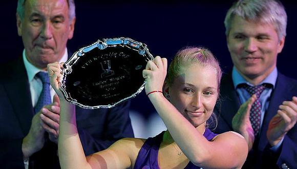 WTA: Svetlana Kuznetsova revalida título y logra plaza para el Masters