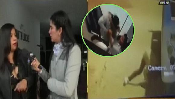 Delincuente se esconde debajo de bus tras robar celular (VIDEO)