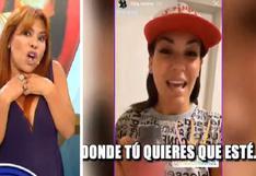 """Magaly se burla del 'mea culpa' de Tilsa Lozano: """"Hacerse la bruta en este país funciona""""   VIDEO"""