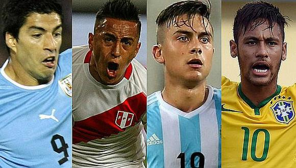 Rusia 2018: estos son los clasificados de Sudamérica al mundial