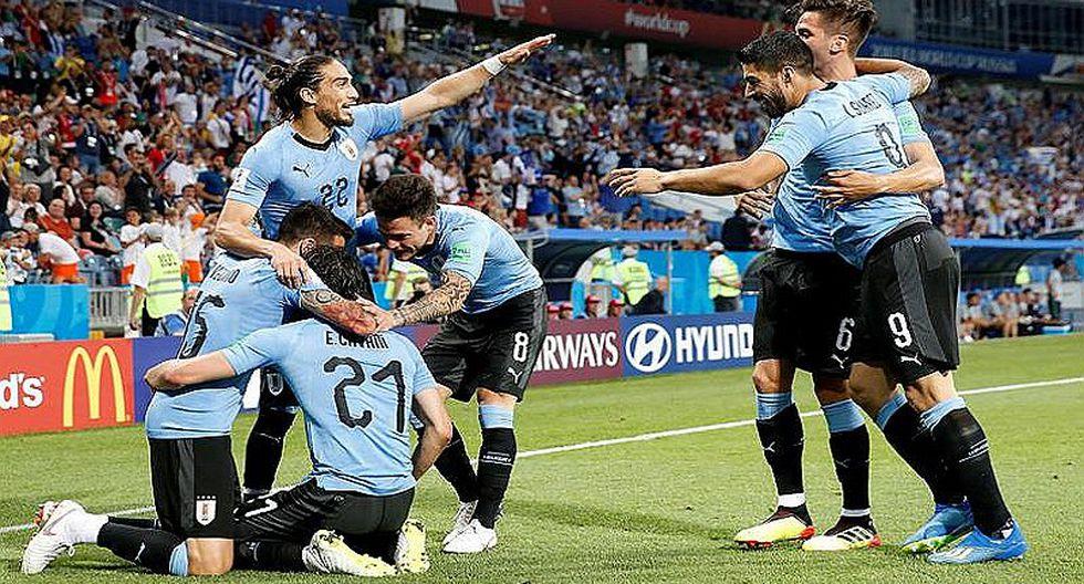 Doblete de Cavani elimina a Portugal de Crisitano Ronaldo y Uruguay pasa a cuartos de final