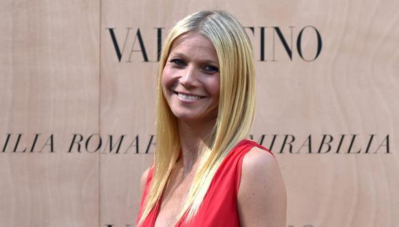 """""""Es increíble saber que hay productos limpios y no tóxicos que son realmente eficaces y hacen maravillas en la piel"""", dijo Gwyneth Paltrow.  (AFP)"""