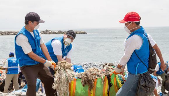 Al igual que en otras oportunidades, los municipios distritales entregarán a los voluntarios equipos de protección personal, bebidas y bolsas biodegradables para el acopio de los residuos. (Foto: Municipalidad de Lima)