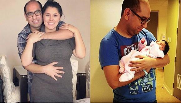 Lady Guillén: La tierna 'locura' de amor de Christiam Uribe por los seis meses de su hijita (VÍDEO)