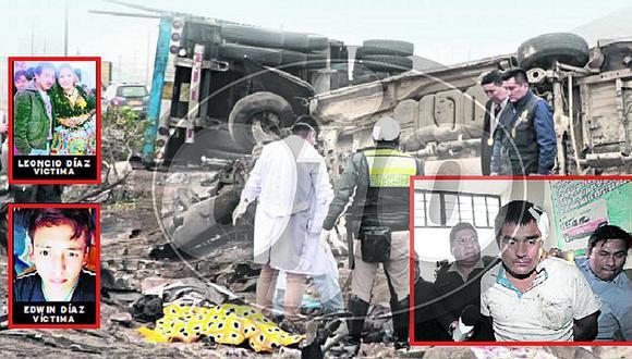 Ancón: chofer de tráiler que protagonizó accidente mortal sí estaba ebrio (FOTOS)