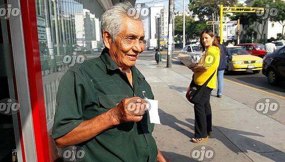 Fonavi: abuelito de 100 años cumple su sueño de cobrar la devolución de sus aportes (VIDEO)