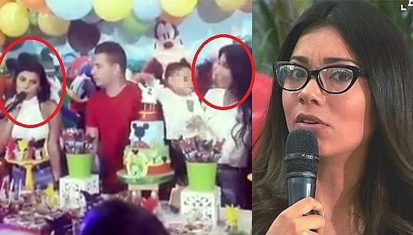 Yahaira Plasencia olvida demanda y se luce con excuñada en el cumpleaños de su sobrinito (FOTO Y VÍDEO)
