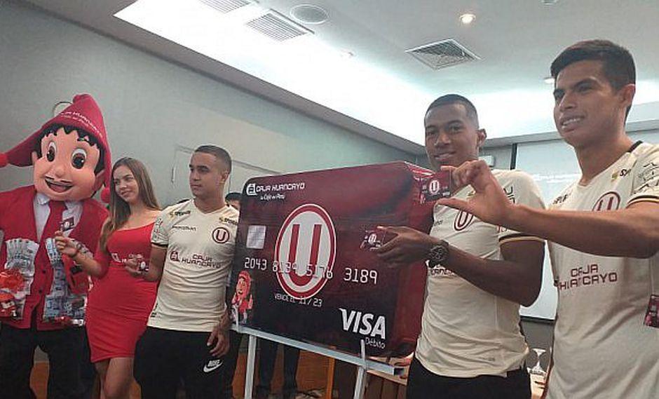 Presentan tarjeta de débito inspirada en el Club Universitario de Deportes