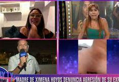 Mamá de Ximena Hoyos y su expareja se enfrentan cara a cara | VIDEO