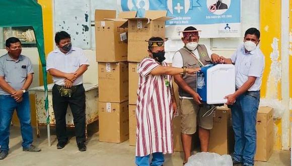 Pasco: comunidades asháninkas ya cuentan con concentradores de oxígeno para COVID-19 (Foto: Minsa)