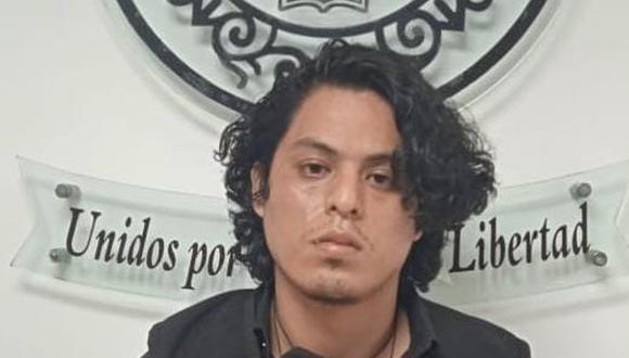 Alex Silva Verástegui, quien tenía cautiva a la menor, fue capturado por agentes antisecuestros de la Dirincri. (Foto: PNP)