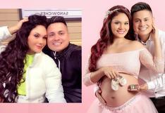Génesis Tapia está embarazada por cuarta vez y muestra su avanzado estado | VIDEO