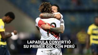 Selección peruana: La palabra de Gianluca Lapadula tras anotar su primer gol con la 'bicolor'
