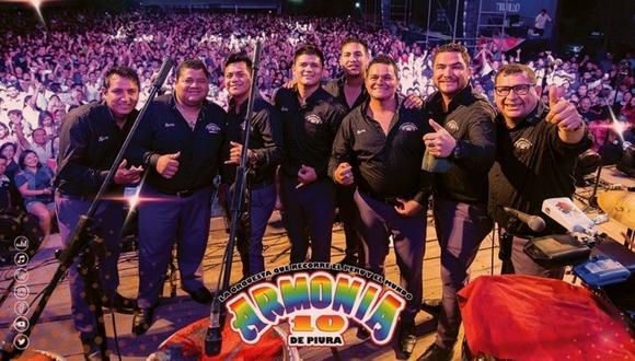Walter Lozada, director musical de Armonía 10, señaló que la orquesta se declarará en quiebra si hasta diciembre no hay solución para su sector. (Foto: Facebook oficial)