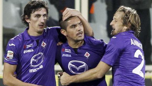 Juan Vargas jugó en Calcio Catania, Fiorentina y Genoa en Italia. (Foto: Difusión)