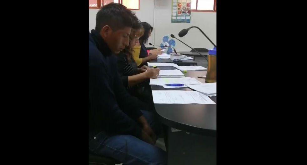 Por videoconferencia dictan nueve de prisión preventiva a sujeto por acuchillar a expareja, en Arequipa. (GEC)
