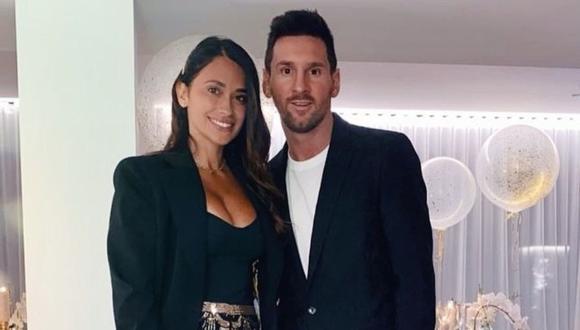 Lionel Messi y Antonella Roccuzzo de vacaciones en Miami. (Foto: @antonelaroccuzzo).