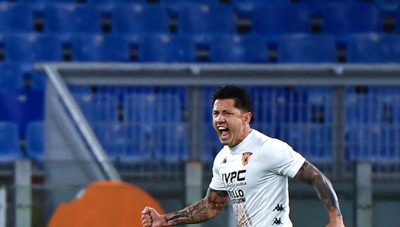 Lapadula responde al llamado de Ricardo Gareca para los desafíos de la 'Blanquirroja' contra Chile y Argentina. (Foto: AFP)