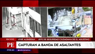 Capturan a banda de asaltantes en El Agustino