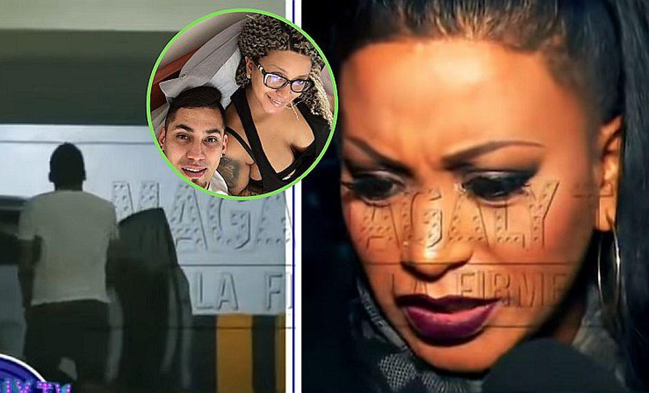 La reacción de Paula Arias al enterarse de la infidelidad de su pareja Tomás Medrano (VIDEO)