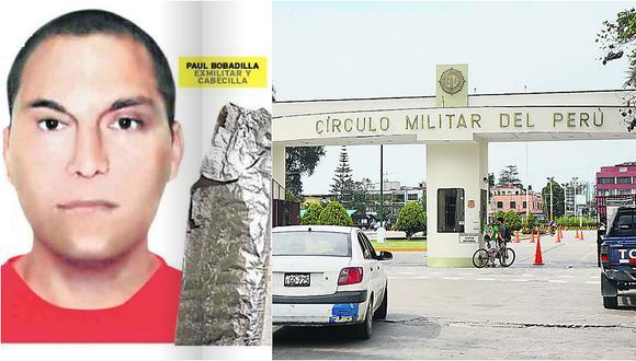 ¡Para no creerlo! Narcos operaban desde Círculo Militar