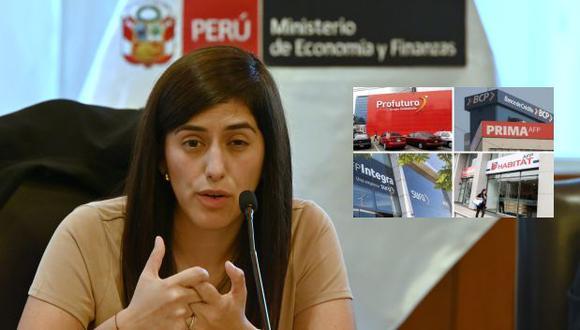 """Ministra Alva evaluará retiros de AFP: """"sería terrible que se insista con el 100% de los retiros"""""""
