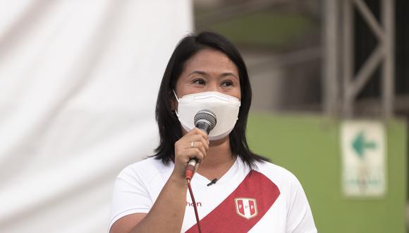 Keiko Fujimori confirmó su participación en evento internacional. (Foto: Archivo de GEC)