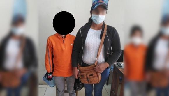Cusco: Niño de 11 años desaparece casi un mes y lo encuentran en cabina de Internet (Foto: PNP)