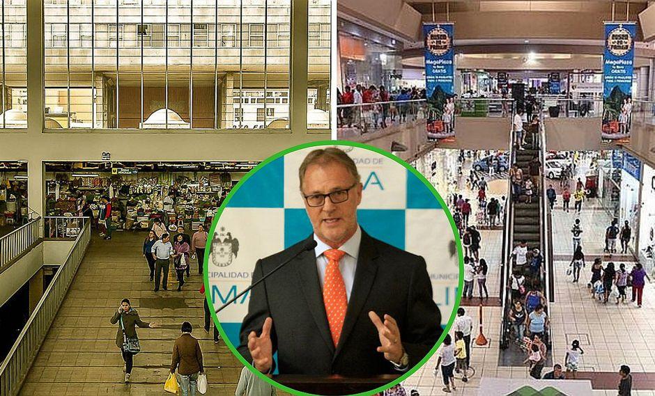 Jorge Muñoz transformará Mercado Central en un centro comercial