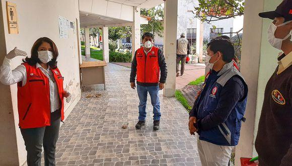 El albergue temporal tiene con fin proteger a personas vulnerables ante la epidemia de coronavirus.