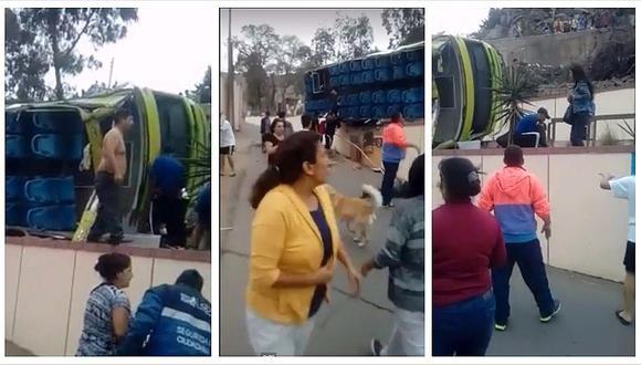 Cerro San Cristóbal: aparecen videos inéditos del fatídico accidente