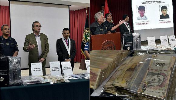 Trujillo: Desarticulan organización que movía S/. 480 mil gracias a extorsiones [FOTOS y VIDEO]