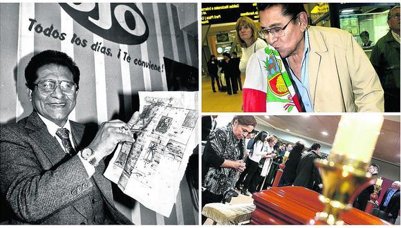 Adiós, cholo: fallece cantautor peruano Luis Abanto Morales (FOTOS)