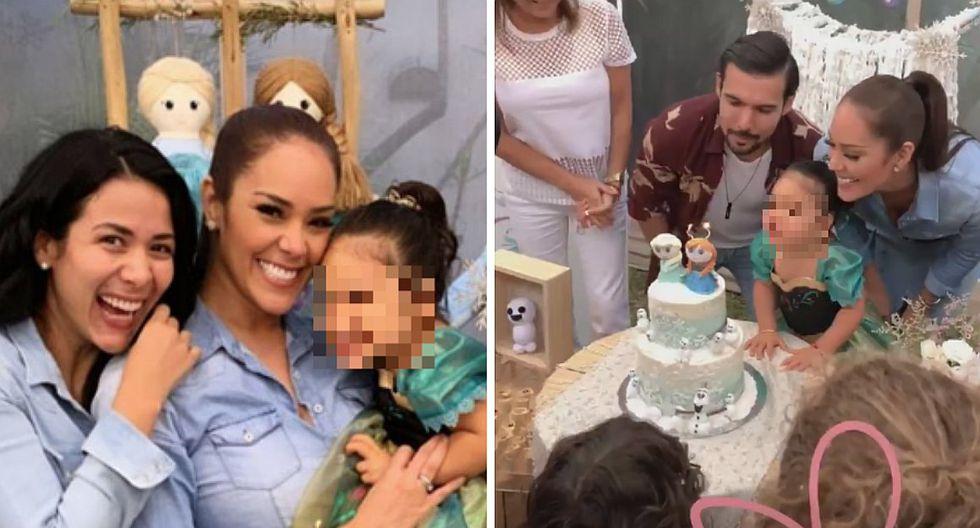 Karen Schwarz y Ezio Oliva celebran los 2 añitos de su hijita con linda fiesta (VIDEO)