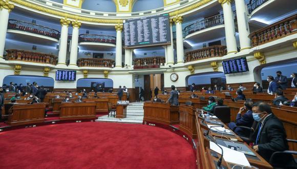 Este viernes se realiza la última sesión del Congreso complementario 2020-2021. (Foto: Congreso de la República)