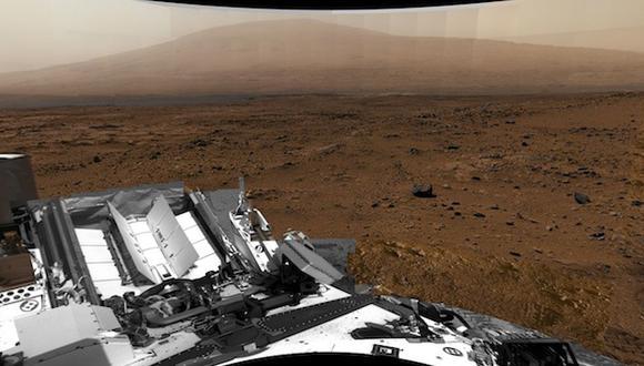 NASA publica foto de Marte de 1,000 millones de pixeles