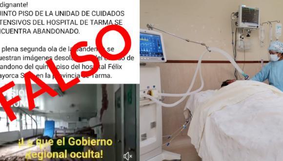 Comunicado de Red de Salud Tarma (Foto: Red de Salud Tarma)