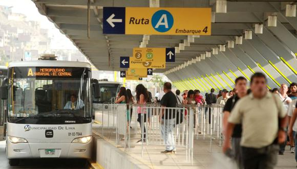 Las obras de ampliación del Metropolitano se iniciarán en la Estación Naranjal . (Foto: Andina)