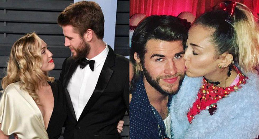 Liam Hemsworth y Miley Cyrus demuestran estar más enamorados que nunca