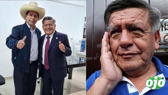 """César Acuña respalda a Castillo: """"los 15 votos de APP apoyarán la gobernabilidad""""   Foto: Instagram   GEC"""