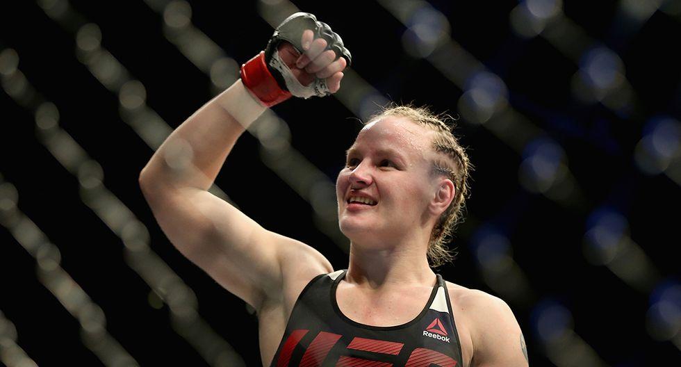 Valentina Shevchenko lleva tres victorias consecutivas en la UFC. (Foto: AFP)
