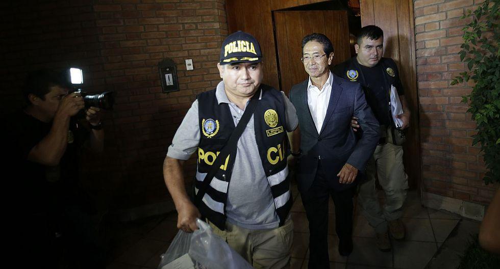 Jaime Yoshiyama busca dejar prisión preventiva por coronavirus. (Foto: GEC)
